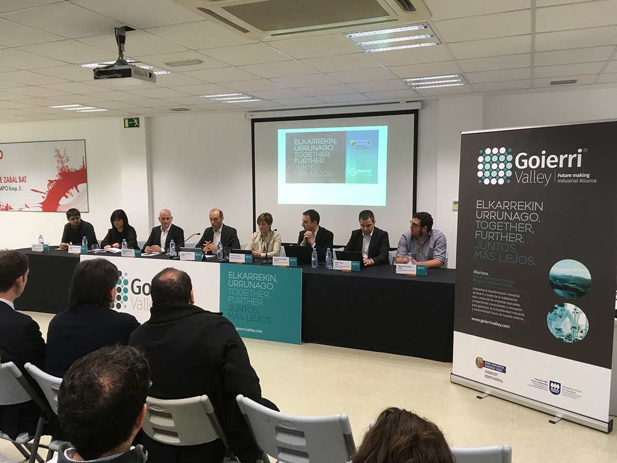 The General Assembly of Goierri Valley has been celebrated , where 54 companies are collaborating together